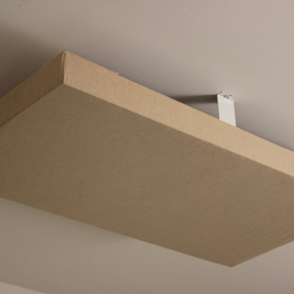 Acoustic Panel Ceiling Cloud Mounting Brackets 1