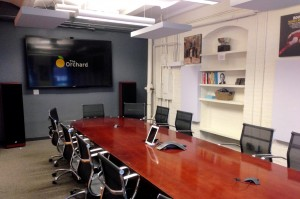 GIK acoustic Panels 242 Ceiling The Orchard Conference Room