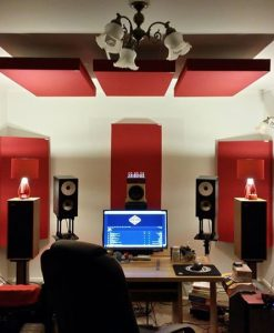 GIK 242 Acoustic Panels In Auckland NZ home studio