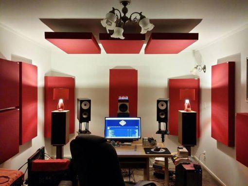 GIK 242 Acoustic Panels In Auckland NZ home studio