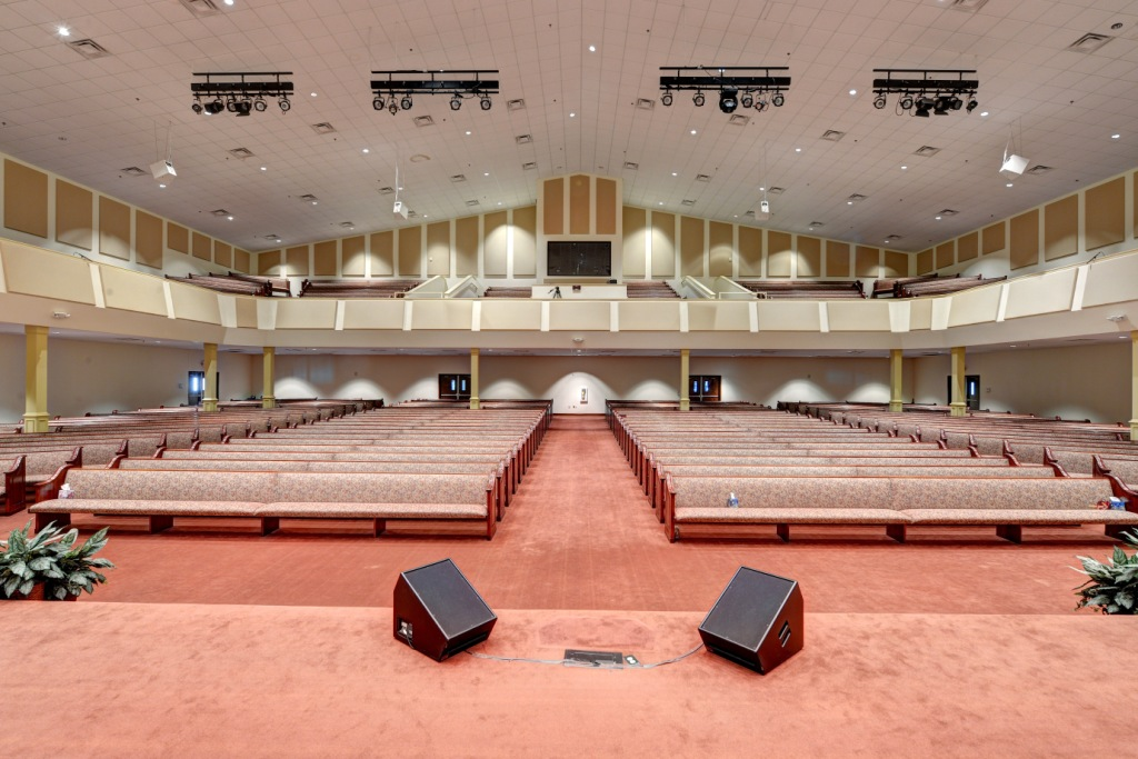 GIK Acoustics Spot Panels Antioch Baptist Church