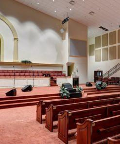 GIK Acoustics Spot Panels Antioch Baptist Church