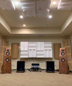 GIK Acoustics 2 channel listening room