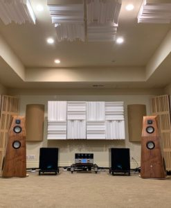 GIK Acoustics 2 channel listening room