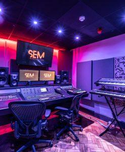 SEM Studio GIK Acoustics Alpha Pro Series
