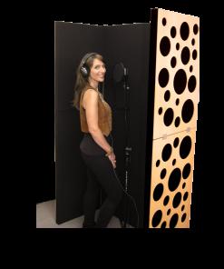 Vocal Booth e Gobo