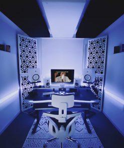 Ted Camozzi Home Studio GIK Acoustics Impression Pro Series