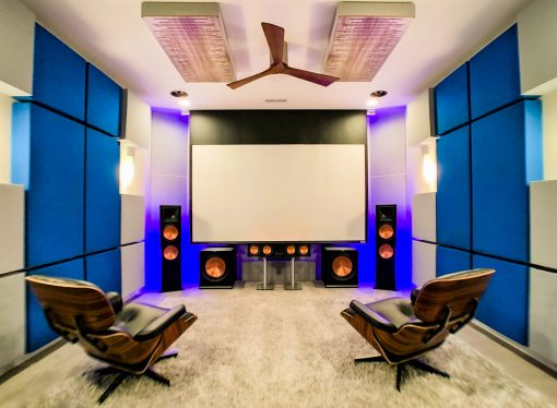 Richard Fox Home Studio GIK Acoustics Impression Pro Series