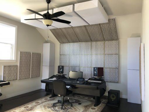 Zac Studio GIK Acoustics Impression Pro Series Gray Mod GEO Gray elm