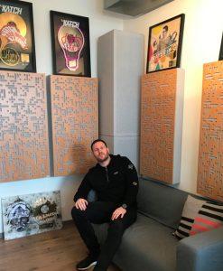 DJ Katch Studio GIK Acoustics Alpha Pro Series