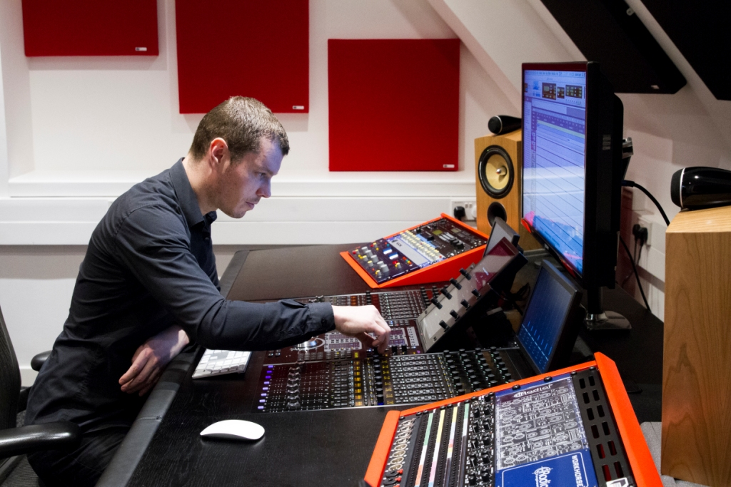 Abbey Road Institute S6 Studio