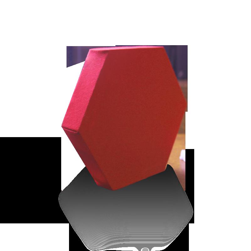 Hexagon pannelli fonoassorbenti