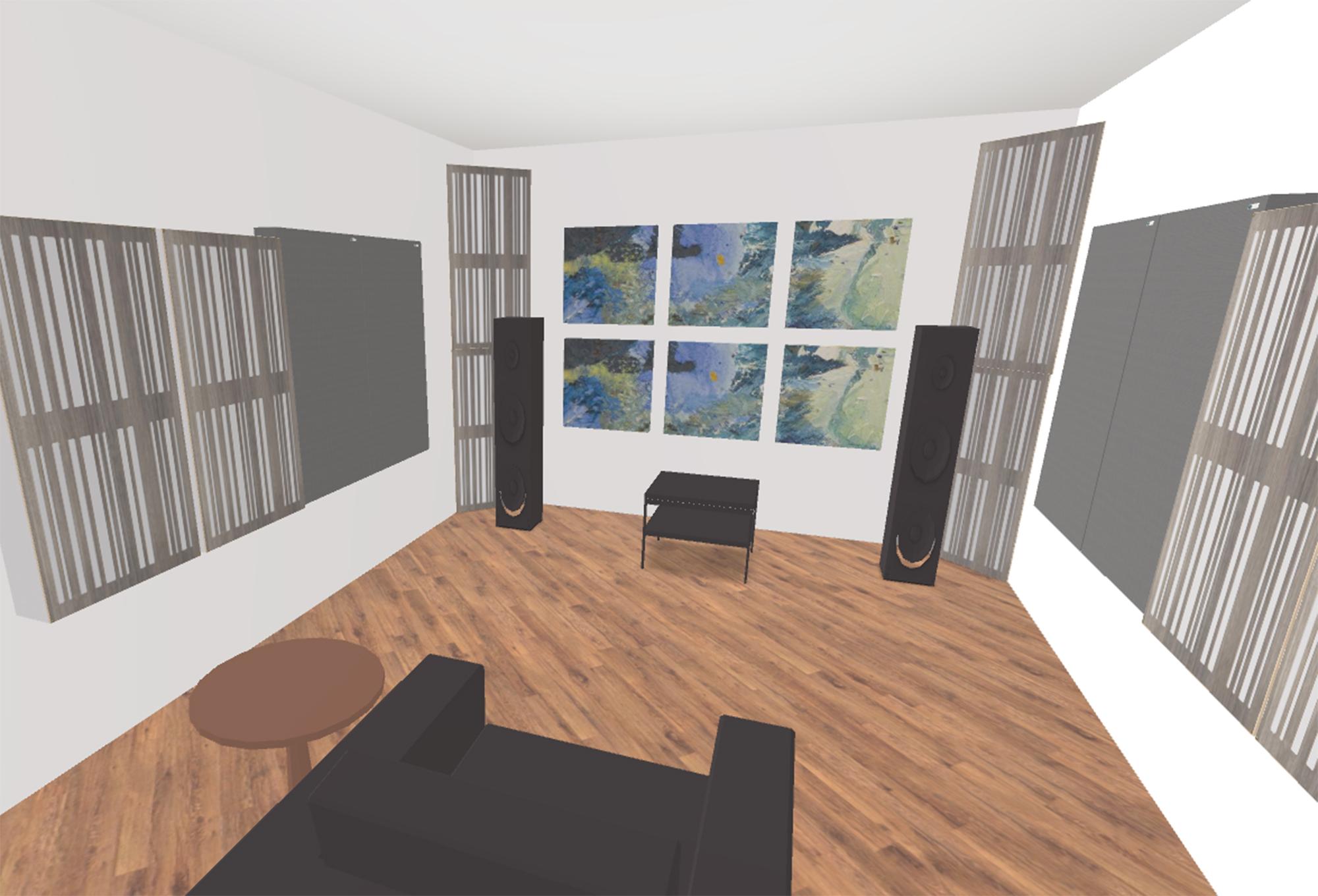 Sala d'ascolto Hi-Fi